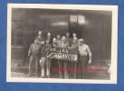 Photo Ancienne - PONT SAINT VINCENT / BAINVILLE Aux MIROIRS - Groupe D´ouvrier Avec Panneau Vive Les Vacances - 1960 - Berufe