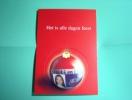 Carte Publicitaire UGC (cinémas) - Neuve - Avec Une Boule De Noël Détachable (comme Un Puzzle) - Ref 9518 - Puzzles