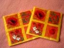 Serviettes En Papier - Oranges - Motif : Coquelicot - Neuves - Paquet De 20 Serviettes - Dimensions 33* 33 Cm - Serviettes Papier à Motif