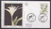 = Nature De France Espèces Des Zones Humides Enveloppe 1er Jour 44 Nantes 12.9.92 N°2766 Lys De Mer - 1990-1999