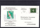 Pays Bas - Carte Postale De 1961 - Oblitération Venlo - Avec Vignette Allemande - Vol Par Fusée - Period 1949-1980 (Juliana)