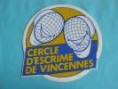 Autocollant Escrime Vincenne - Autres