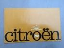 Catalogue Citroen Gamme Bicylindres - 1966 - 2 Cv AZL - AM - Enac - Ami 6 - Break
