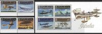 Gibraltar 2010 100th Anniv. Of Seaplanes Bl+4v MNH** - Gibraltar
