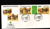 NIGER, 1985, PHILEXAFRIQUE III,. INTERNATIONAL PHILATELIC EXHIBITION - Niger (1960-...)