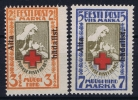 ESTLAND/ESTONIA: Mi Nr 46 A + 47 AMH/*, Avec  Charnière , Mit Falz, 1923 - Estland
