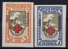 ESTLAND/ESTONIA: Mi Nr 46 B + 47 B MH/*, Avec  Charnière , Mit Falz, 1923 - Estland