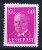 ESTLAND/ESTONIA: Mi Nr 126 MH/*, Avec  Charnière , Mit Falz, 1936 - Estonia