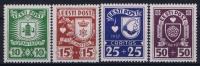 ESTLAND/ESTONIA: Mi Nr 127 - 130 MH/*, Avec  Charnière , Mit Falz, 1937 - Estonie