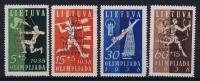 Lithuania Litauen Mi Nr 421 - 424   MH/*, Avec  Charnière , Mit Falz - Lituanie