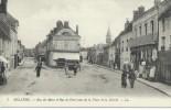 61  Bellême Rue Du Mans Et De Paris Vues De La Place De La Liberté TBE L.L. - France