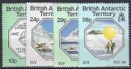 ANTÁRTIDA BRITANICA 1987- Yvert #164/67** Precio Cat. €5.50 - Territorio Antártico Británico  (BAT)