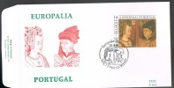 FDC 2409 Europalia 91 Portugal - 1991-00