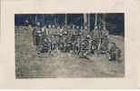 CARTE PHOTO MILITAIRE - CHASSEURS ALPINS - Regiments