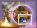 2008 Guinea Messenger Spazio Space Espace Set 2 Block MNH** - Guinea (1958-...)