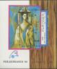 LAOS Bloc N°106** Bf Tableau, Peinture, Picasso, 1989 Painting Sheet Sc# 939 MNH