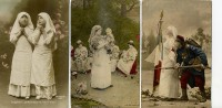 Lot De 3 Cartes : Infirmières De La Croix Rouge - Orphelins, Jouets - Croix-Rouge