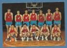 PALLACANESTRO SQUADRA JUGOSLAVIA A LUBIANA 1970 - Basket-ball