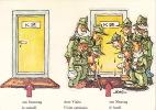 CPSM - Humour - Militaria - Militaire - Illustrateur Naef - Humour