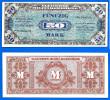 Allemagne 50 Mark 1944 WWII Que Prix + Port Imprime Par USA Frcs Frc Paypal Skrill Bitcoin OK - [ 5] 1945-1949 : Occupazione Degli Alleati