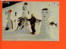 38 Les Gardiens Des Pistes - Bonhomme Des Neiges (écrite,non Oblitérée) Enfants - Wintersport