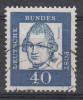 D2555 - Germany (FRG) Mi.Nr. 355 O/used - Gebraucht