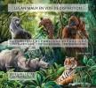 CENTRAL AFRICA 2015 - Endangered Species, Rhinoceros. Official Issue - Neushoorn