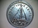 Bahamas 25 Cents 1977 - Bahamas