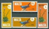 Malta 1971 Birds, Flowers MNH** - Lot. 4023 - Malte