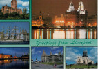 GREETINGS  FROM  LIVERPOOL       (VIAGGIATA) - Liverpool