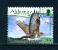 ALDERNEY  -  2008  Resident Birds  34p  Used As Scan - Alderney