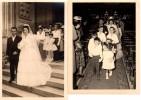 Photo  Originale - Photo De Mariage -Couple - Mode Costumes - Photo P-E CHUNIAUD - 9 Rue Mercoeur Nantes (44) - Métiers