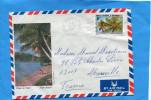 MARCOPHILIE-NLLE CALEDONIE--lettre -cad  1980-pour Françe-stamp N°432  Flore-cyathea - Covers & Documents