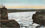 Yukon River Five Finger Rapids, Canada, Ice Jam, C1900s Vintage Postcard - Yukon
