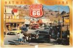Oatman Arizona, Route 66 Historic Street Scene C1990s/2000s Vintage Postcard - Other
