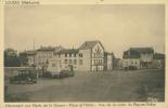43 LOUDES / Monument Aux Morts De La Guerre, Place Et Hôtels, Vue De La Route Du Puy-en-Velay / - Loudes