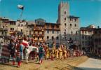 AREZZO /  Giostra Del Saracino - I Cavalieri  _ Viaggiata - Arezzo