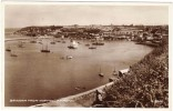Brixham - From Northcliff Hotel Black & White Real Photo Postcard 1940´s By Valentine - England