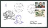1995 ITALIA FDC VENETIA 848 RADIO MARCONI TIMBRO DI ARRIVO - Q - 6. 1946-.. Republic