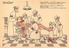 APRES LE RHIN ON DOIT LUI ENLEVER LE COEUR HITLER SUR LA TABLE D'OPERATION ILLUSTRATEUR JEAN DE PREISSAC - Humorísticas
