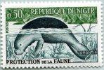 N° Yvert 96A - Timbre De La République Du Niger (MNH) (1962) - Trichechus Senegalensis (3) (DA) - Niger (1960-...)