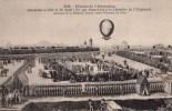 Cpa Ak Pk *2 Scans Histoire De L'aerostation Ascencion A Lille Le 26 Aout 1785 Par Blanchard Et Le Chevalier L'espinard - Lille