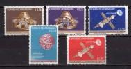 Paraguay **-x-1964 -  Astronautique, Sujets Divers.  Yvert. 759 à 763 . MNH. NEUF.    Vedi Descrizione - Paraguay