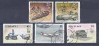150024380  ZIMBAWE  YVERT   Nº  201/203/207/208/209 - Zimbabwe (1980-...)