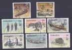 150024381  ZIMBAWE  YVERT   Nº  201/209  (EXCEPT  Nº 202) - Zimbabwe (1980-...)