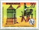 N° Yvert 780 - Timbre Du Rwanda (1978) - MNH - Poste Signalisation Romain Et Tam-Tam Africain (DA) - Rwanda