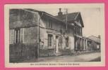 C.P.A. (51Marne)-200,COURTISOLS,(Marne)--La Poste Et Rue Massez. - Courtisols