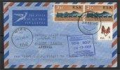 RSA, FIRST FLIGHT TO VIENNA 1969 - Afrique Du Sud (1961-...)