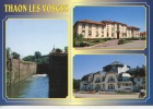 Tahaon Les Vosges Multivues : écluse Maison De Retraite Et La Rotonde (n°8832/3 Mage) - Thaon Les Vosges