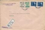 Letter FI000022 - Yugoslavia Slovenia 1946 Zadruzna Gospodarska Banka Ljubljana - Yugoslavia